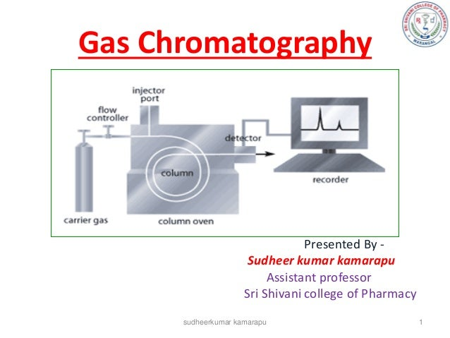 Gas Chromatography                                 Presented By -                     Sudheer kumar kamarapu              ...