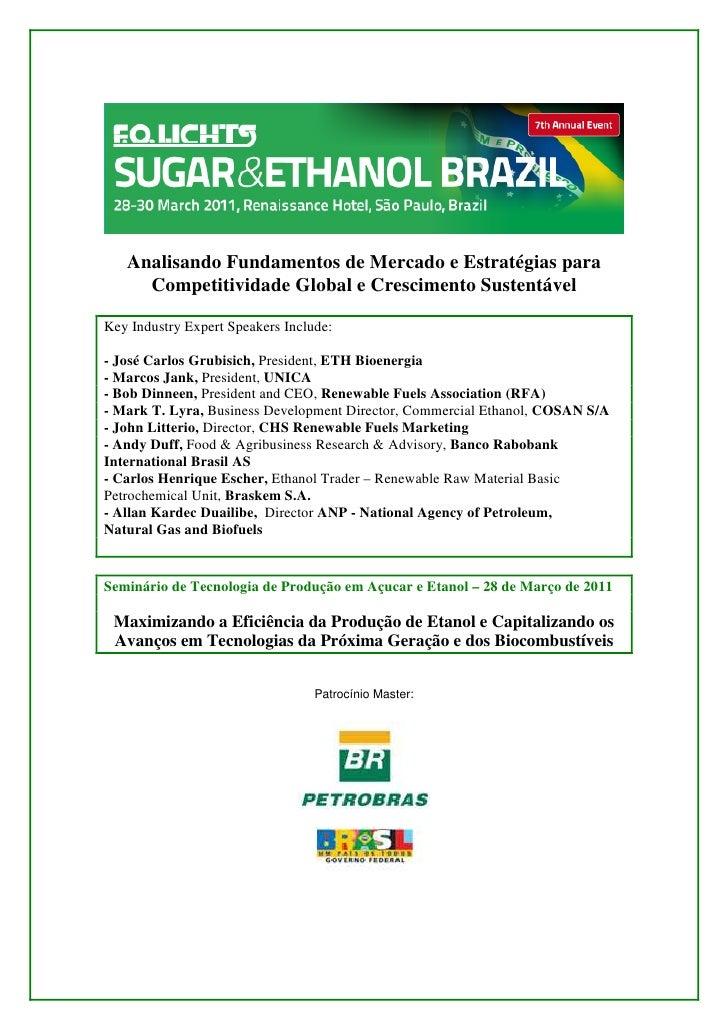 sugar&ethanol brazil
