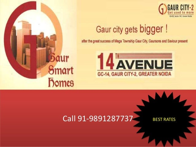 GAUR CITY 14 AVENUE