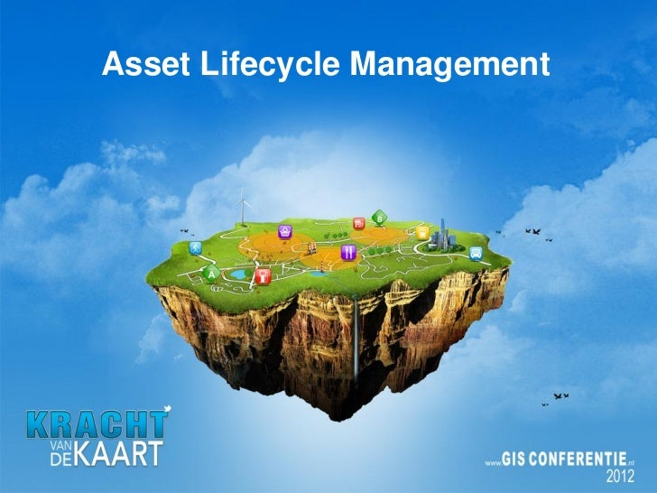 GIS en Asset Lifecycle management, Esri Nederland