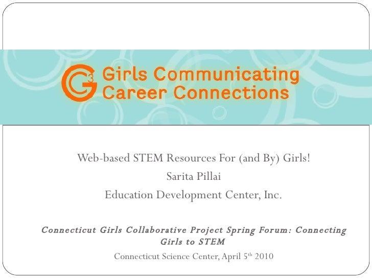 STEM Career Resources for Girls