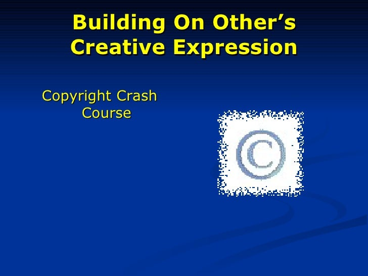 Gcain's copyright modified ppt