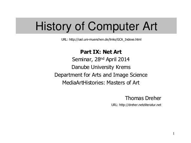 History of Computer Art IX, Net Art