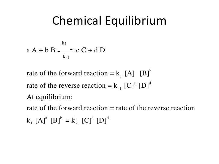Chemical Equilibrium<br />