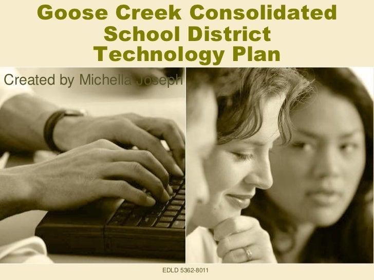 GCCISD Technology Plan