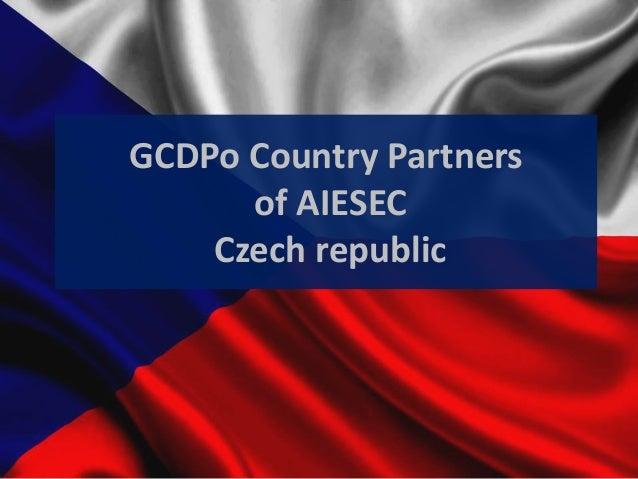 GCDPo Country Partners of AIESEC Czech Republic