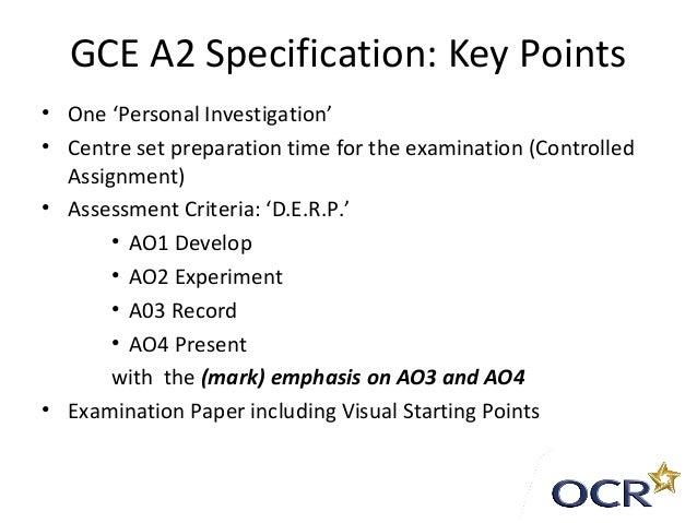 a2 english coursework criteria