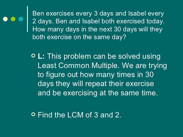 Word problem homework help