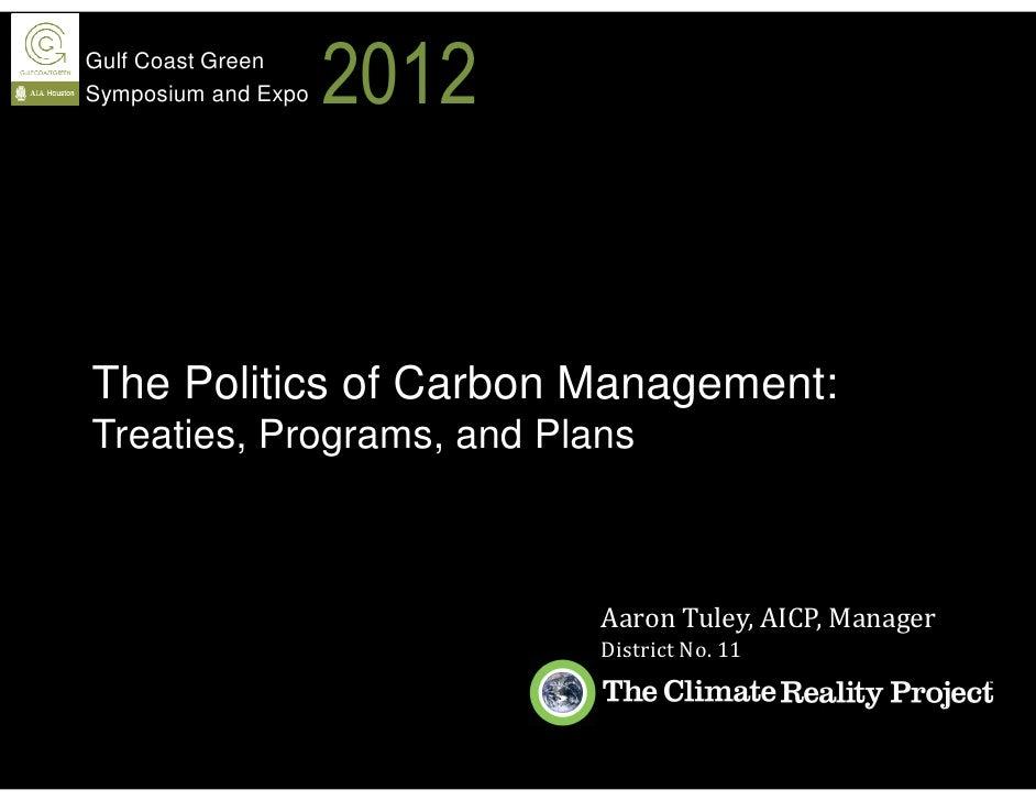 Gulf Coast Green 2012 Aaron Tuley