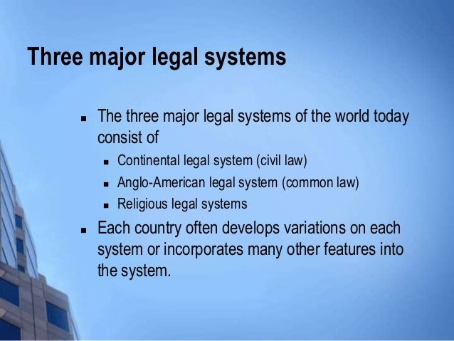 combination of civil and common law in the japanese legal system The two major models for courts are the civil law courts and the common law  in the common law system, most courts follow the  courts in japanese:.