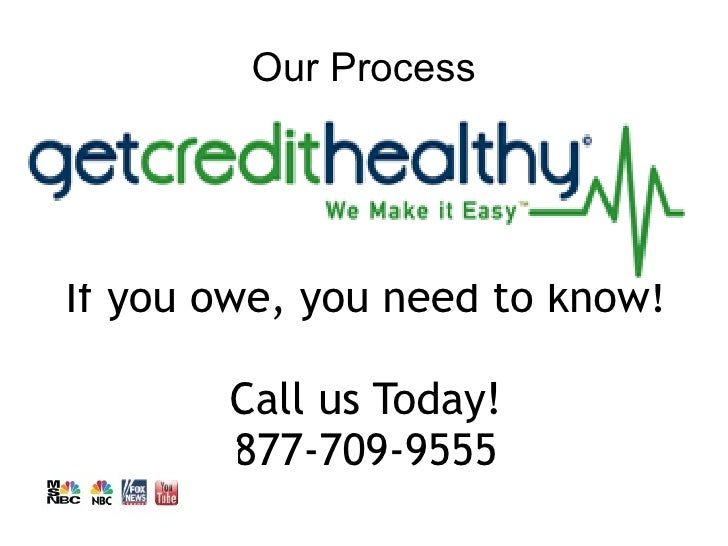 Our ProcessIf you owe, you need to know!       Call us Today!       877-709-9555
