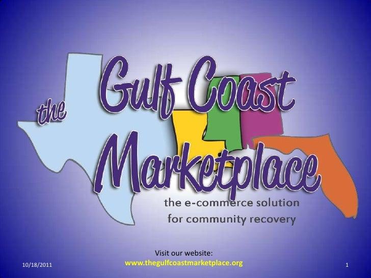 Gulf Coast Marketplace concept