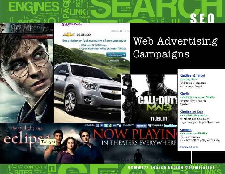 Web Advertising Campaigns