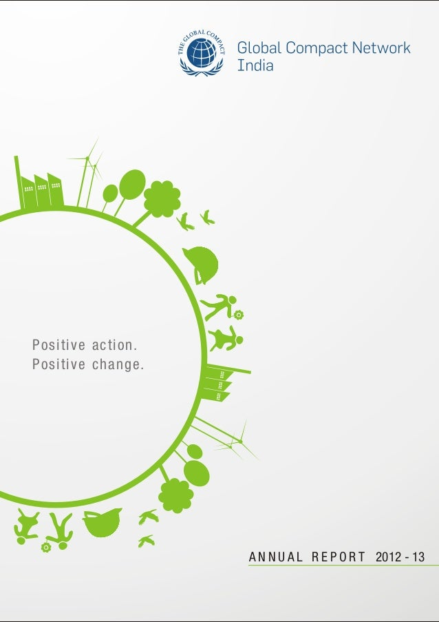 A N N U A L R E P O R T 2012 - 13 Positive action. Positive change.