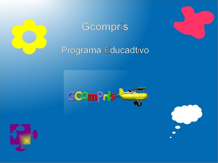 Gcompris Programa Educadtivo