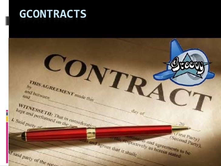 Gcontract
