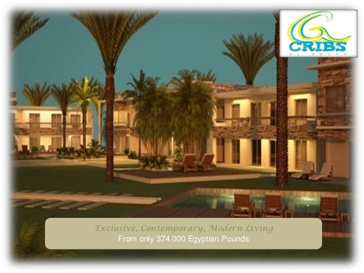 Exclusive, Contemporary, Modern Living<br />From only 374,000 Egyptian Pounds<br />
