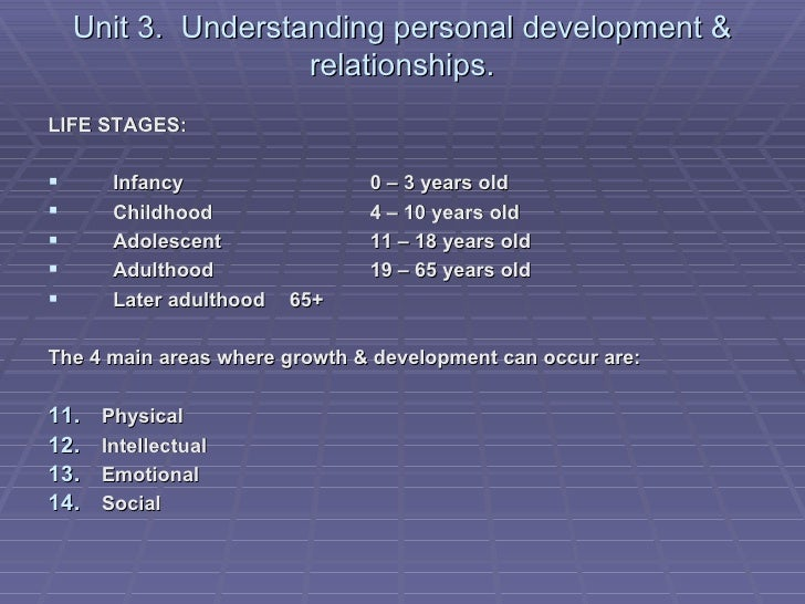 health and social care level 3 unit 4 life stages P2- potential effects of life factors and life events on the development of an individual below is an essay on p2 unit 4 health and social care from anti essays, your source for research papers unit 4 p2 health and social care level 3 health and social care level 3 - unit 13 - p2.