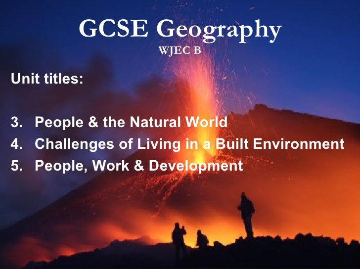 Gcse geography help.?