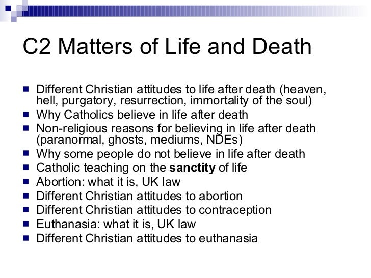 christians feelings about abortion and euthanasia essay Is euthanasia morally permissible euthanasia has been hotly debated he hoped to run away from these feelings is abortion morally permissible essay.