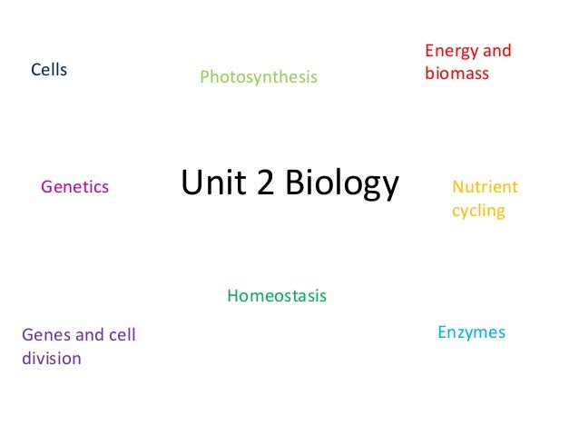 GCSE AQA BIOLOGY UNIT 2