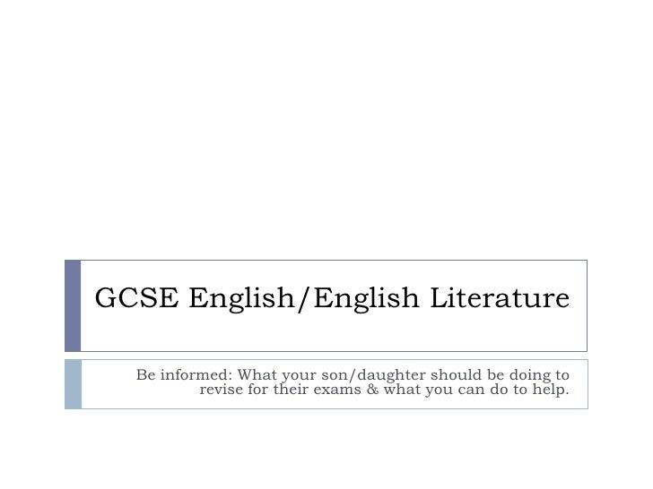 Gcse English Online Presentation