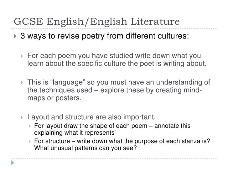 gcse english literature poetry below the Gcse english literature see sample question below: the gcse english team on gcseenglish@wjeccouk or the subject officer for gcse.