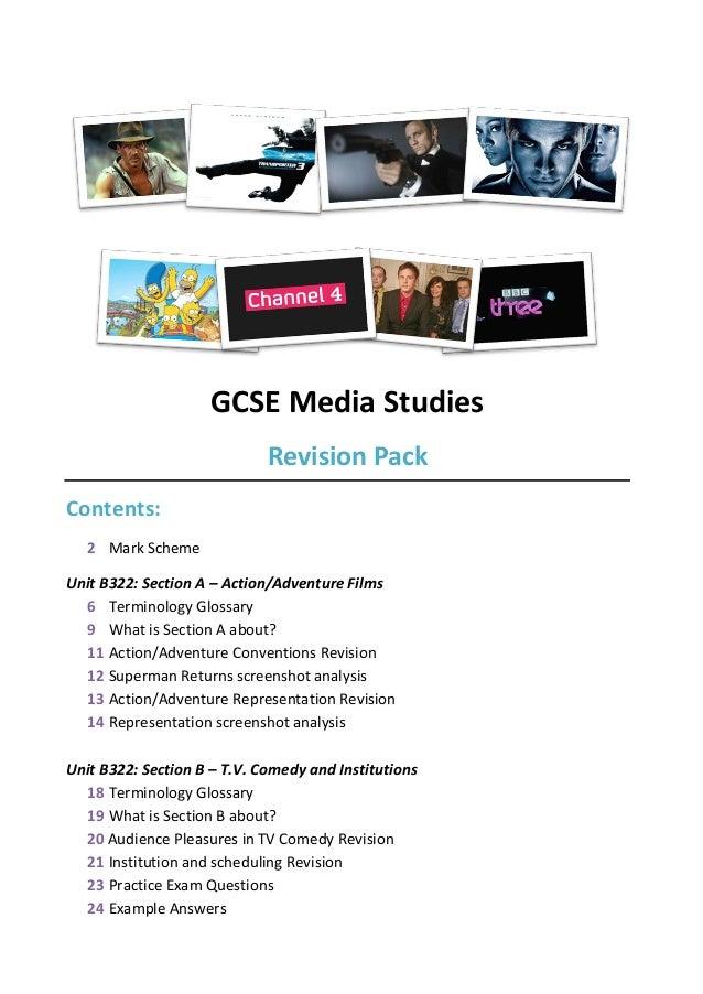 media studies gcse coursework R media studies gcse media studies unit b322 exemplar candidate work from june 2013 june 2014 wwwocrorguk.