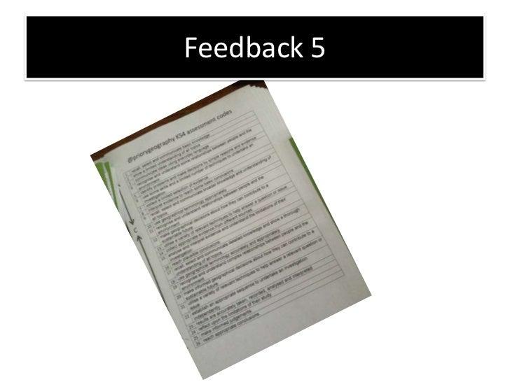 Gcse feedback 5   coasts