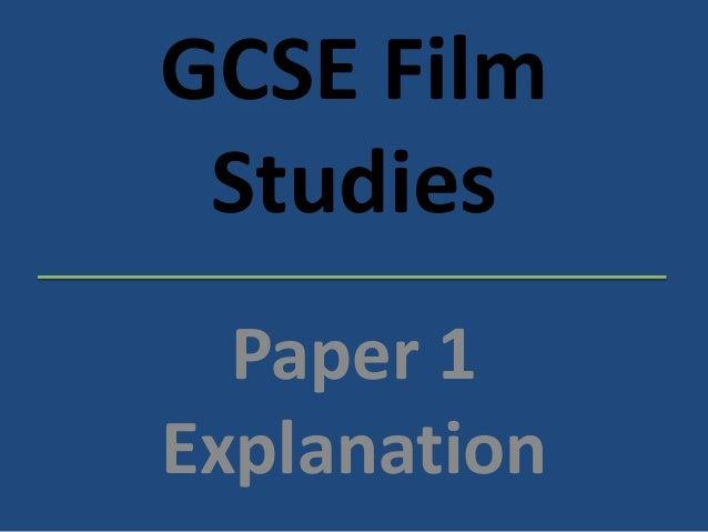 GCSE Film Studies Paper 1 Explanation Superhero Films Revision