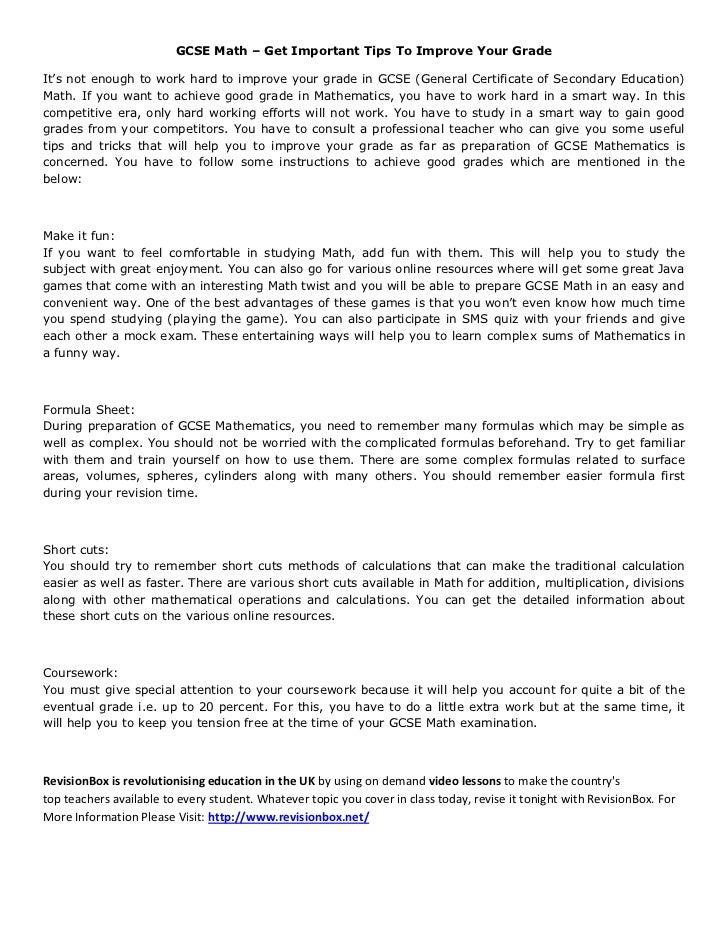 gcse history essay writing tips