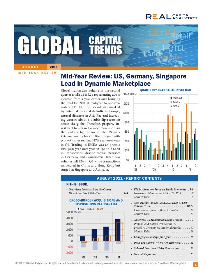 AUGUST                        2 011   MID-YEAR REVIEW                                                Mid-Year Review: US, ...