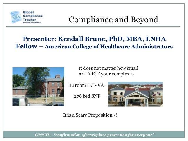 Healthcare Compliance Presentation
