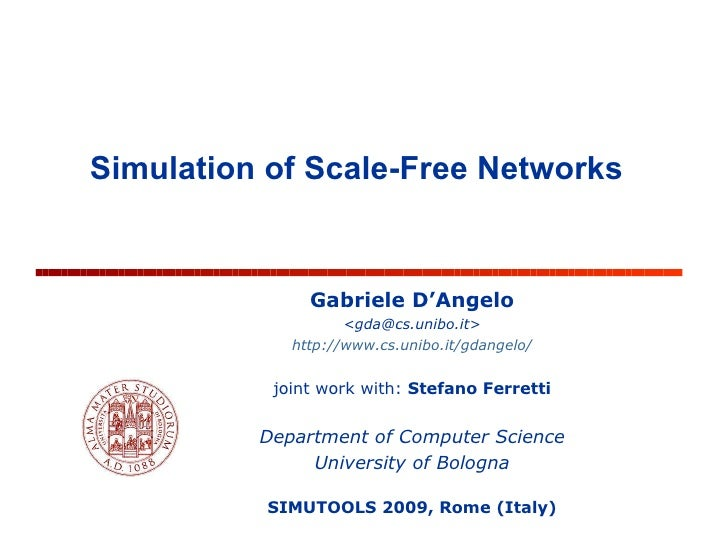 Simulation of Scale-Free Networks