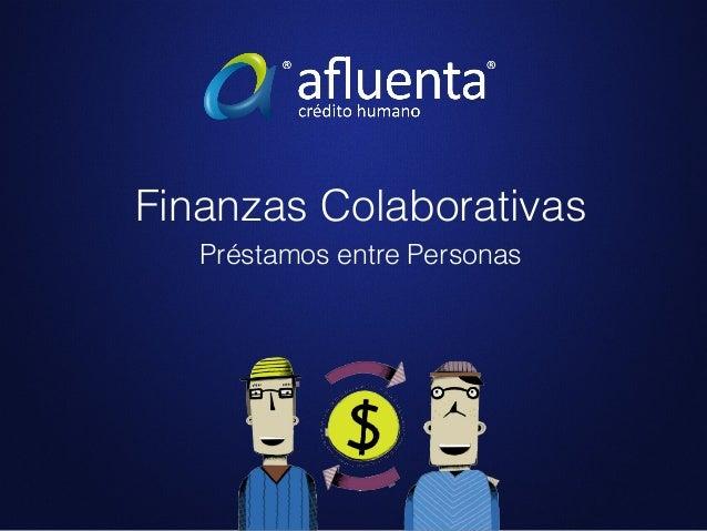 Finanzas Colaborativas Préstamos entre Personas