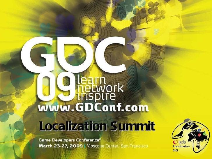 GDC09 Loc Summit Fable2