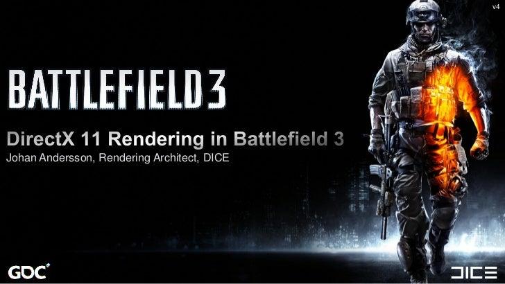 Gdc2011 direct x 11 rendering in battlefield 3