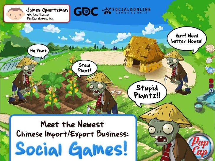 Social Games in China - The New Import/Export Business!