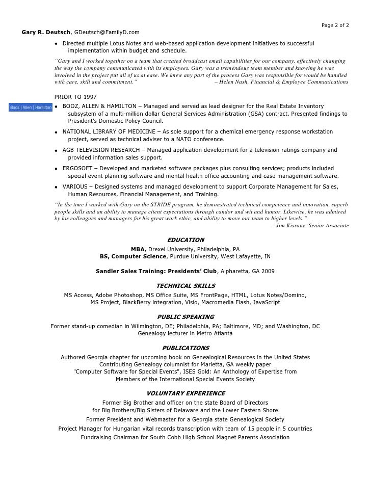accounting manager resume