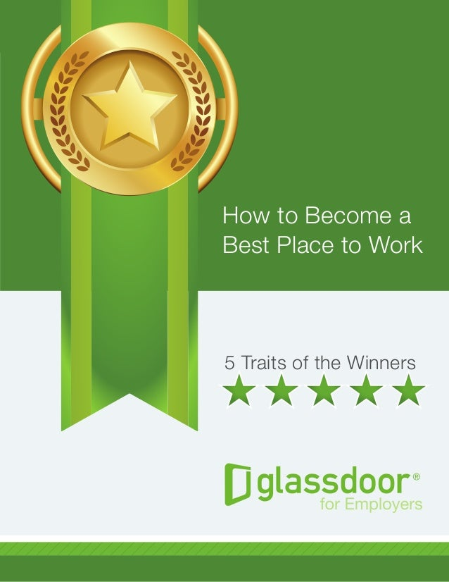 5 Traits of the Winners How to Become a Best Place to Work