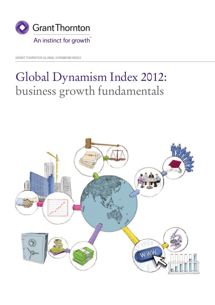 GRANT THORNTON GLOBAL DYNAMISM INDEXGlobal Dynamism Index 2012:business growth fundamentals