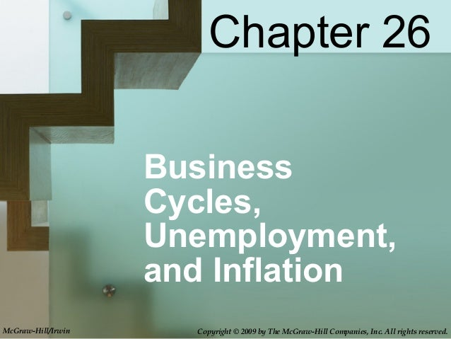 BusinessCycles,Unemployment,and InflationChapter 26McGraw-Hill/Irwin Copyright © 2009 by The McGraw-Hill Companies, Inc. A...