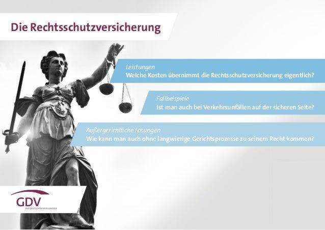 Leistungen Welche Kosten übernimmt die Rechtsschutzversicherung eigentlich? Außergerichtliche Lösungen Wie kann man auch o...