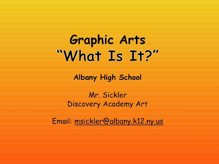Graphic Design Stuff ?!?Art intended to communicate information viamany different media and sources: book, magazine, CD, D...