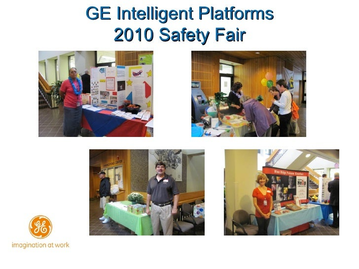 GE Intelligent Platforms 2010 Safety Fair