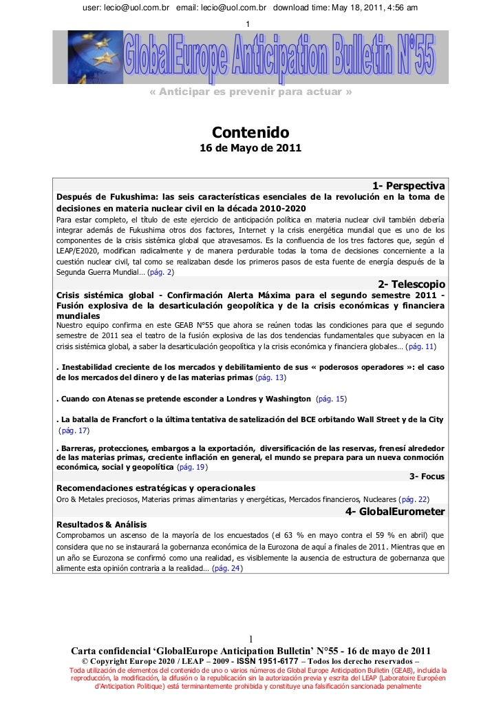 user: lecio@uol.com.br email: lecio@uol.com.br download time: May 18, 2011, 4:56 am                                       ...