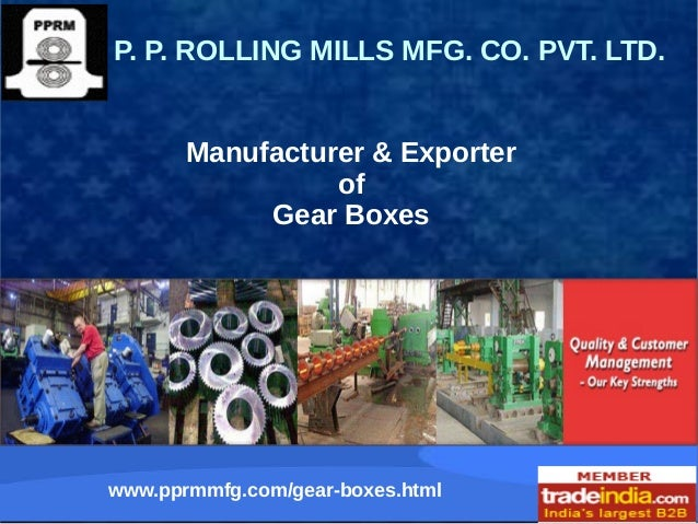 Reduction Gearbox Exporter,Manufacturer,Faridabad