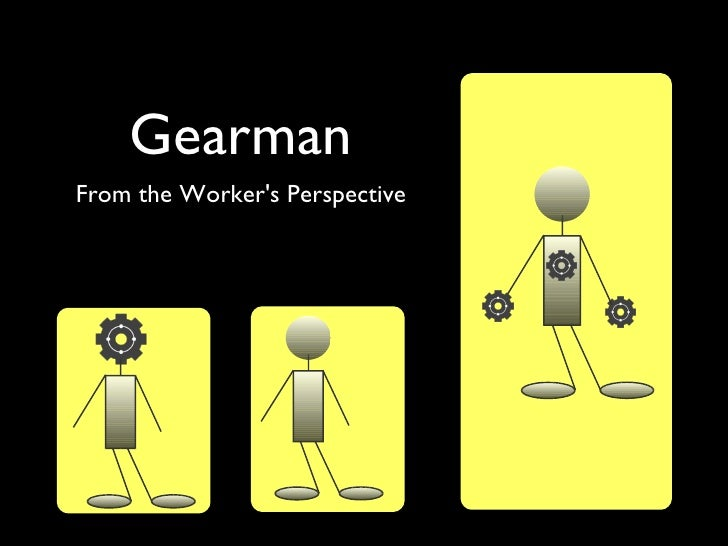 GearmanFrom the Workers Perspective