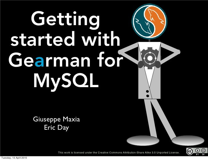 Gearman for MySQL