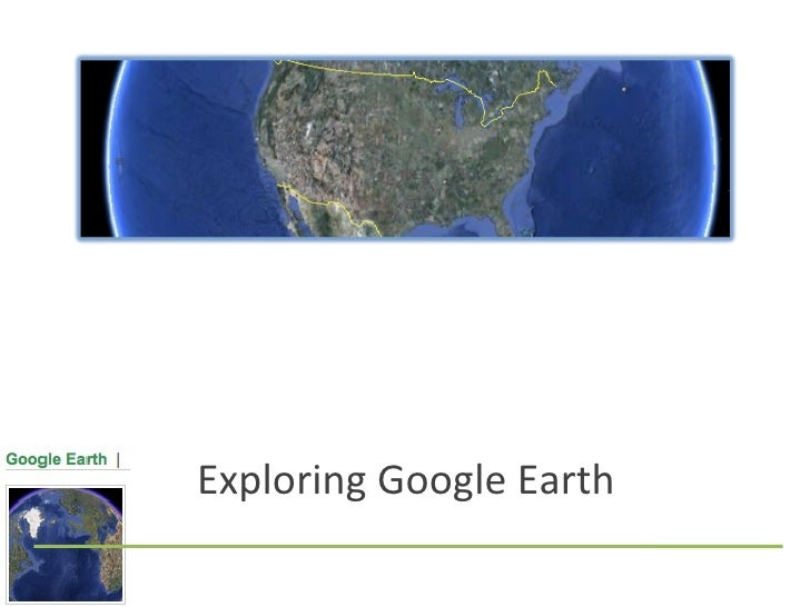 Google Earth Basics